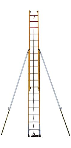 Escalera de fibra ARISAFE3 / F7210CS - 5 m